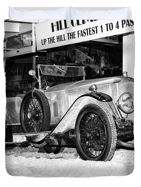 Duvet Cover featuring the photograph 1921 Vauxhall 30/98e by Boris Mordukhayev