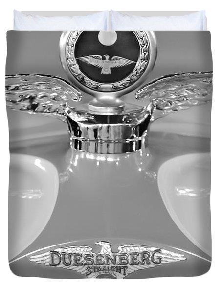 1926 Duesenberg Model A Boyce Motometer 2 Duvet Cover by Jill Reger