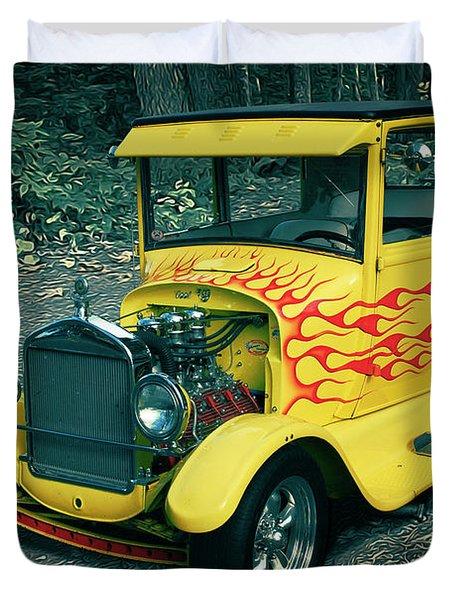 1927 Ford Model T Duvet Cover