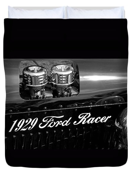 1929 Ford Racer Duvet Cover