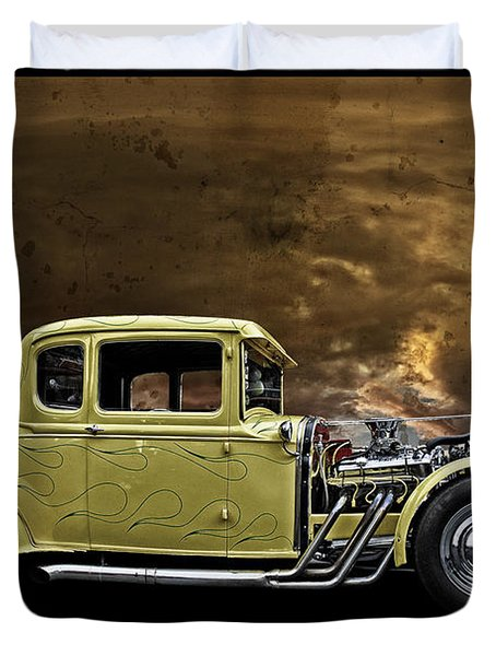 1930 Ford Coupe Duvet Cover