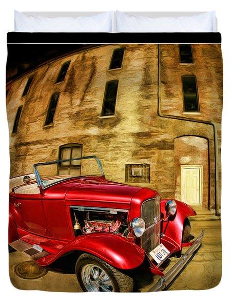 1930 Ford Model A Duvet Cover