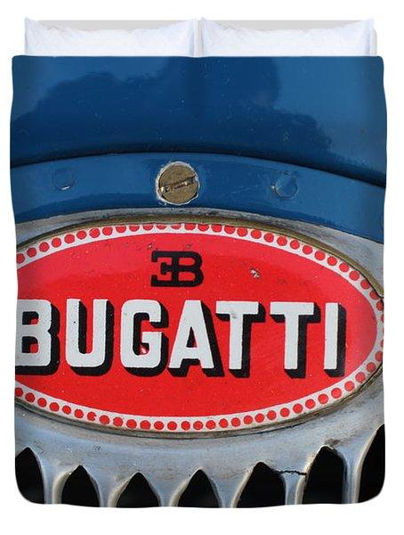 1930's Ettore Bugatti Duvet Cover
