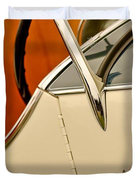 1931 Alfa Romeo 6c 1750 Gran Sport Aprile Spider Corsa Steering Wheel Duvet Cover by Jill Reger