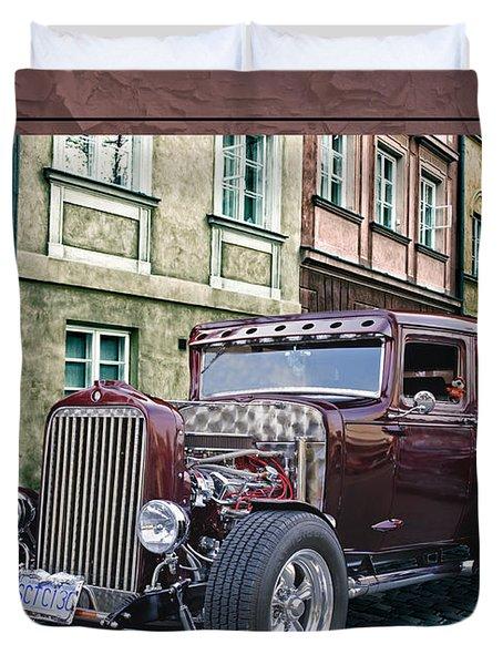 1931 Chev Duvet Cover