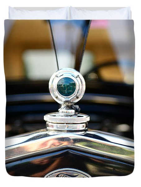 1931 Ford Model A Duvet Cover by Paul Ward