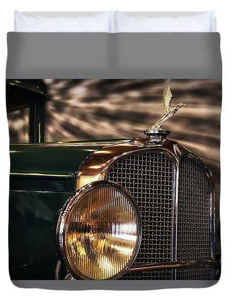 1931 Oakland Sports Coupe Duvet Cover by Thomas Woolworth