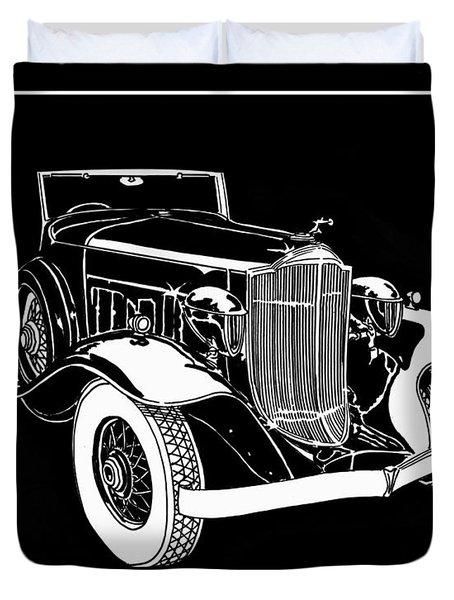 1932 Packard Light Eight Duvet Cover by Jack Pumphrey