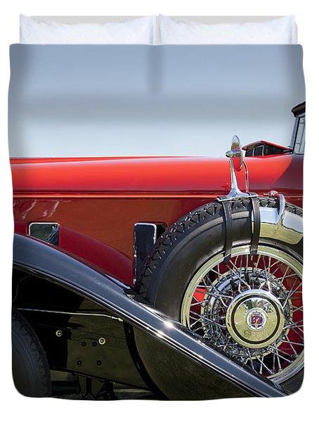 1932 Stutz Bearcat Dv32 Duvet Cover