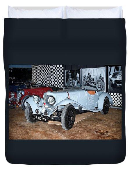 1934 Aston Martin 1.5 Liter Mk. II Duvet Cover