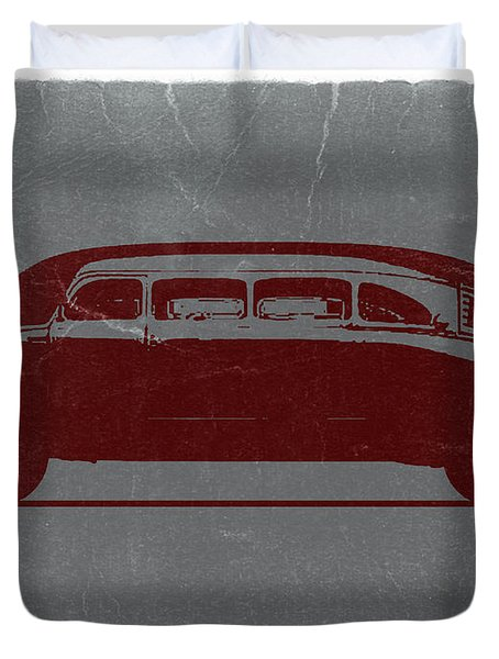 1936 Stout Scarab Duvet Cover by Naxart Studio