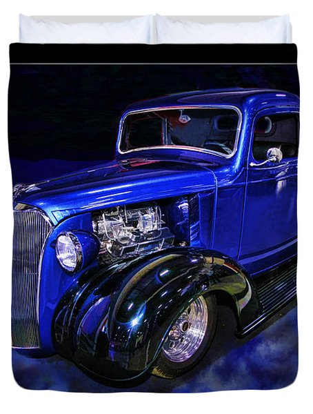 1937 Chevrolet Pickup Truck Duvet Cover