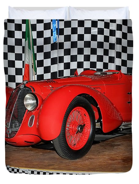 1938 Alfa Romeo 2900b Mm Duvet Cover by Boris Mordukhayev