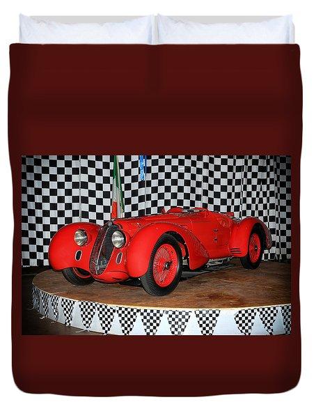 1938 Alfa Romeo 2900b Mm Duvet Cover