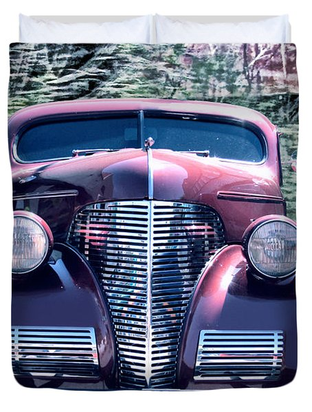 1939 Chevy Immenent Front Original Duvet Cover