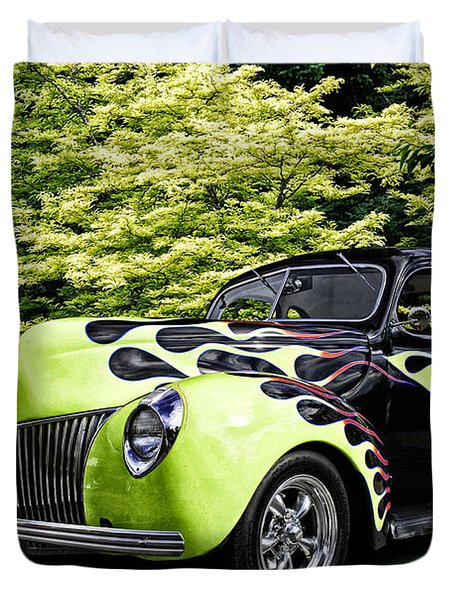 1939 Ford Coupe Duvet Cover