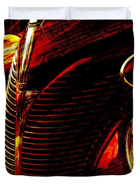 1939 Ford Duvet Cover
