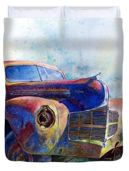 1940 Dodge Duvet Cover