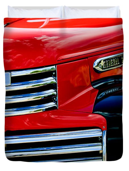 1942 Gmc  Pickup Truck Duvet Cover by Jill Reger