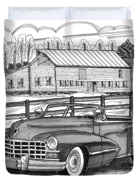 1947 Cadillac Model 52 Duvet Cover