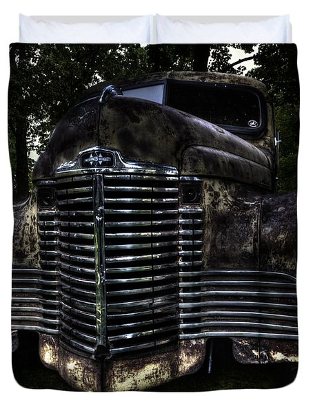 1948 International Truck Duvet Cover