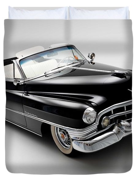 1950 Cadillac Convertible Duvet Cover by Gianfranco Weiss