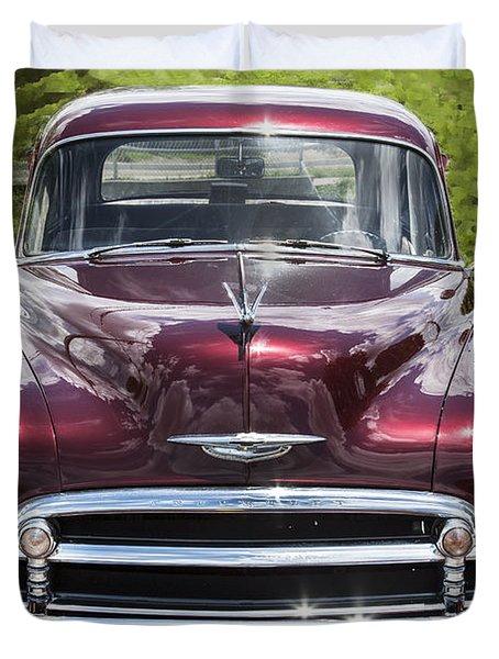 1950 Chevrolet Beauty Duvet Cover