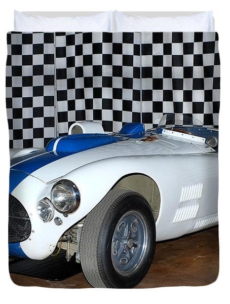 Duvet Cover featuring the photograph 1952 Cunningham C4r by Boris Mordukhayev