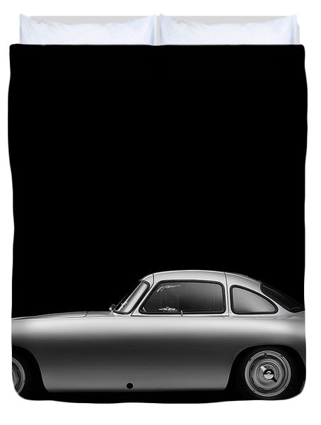 1952 Mercedes 300 Sl  Duvet Cover by Gianfranco Weiss