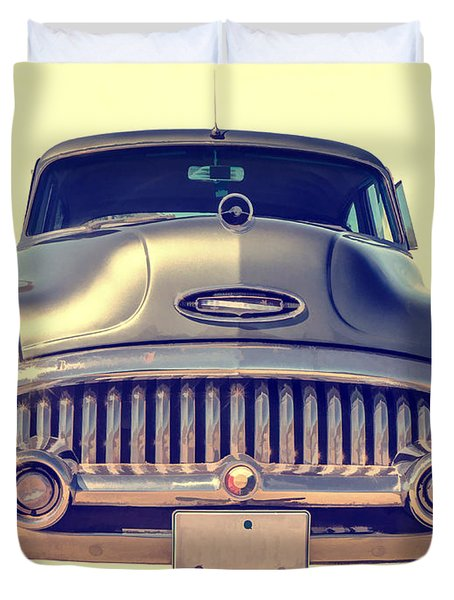 1953 Buick Roadmaster Duvet Cover by Edward Fielding