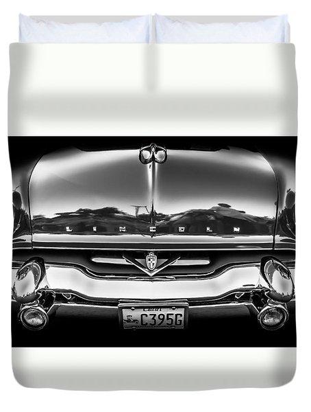 1953 Lincoln - Capri Duvet Cover by Steven Milner