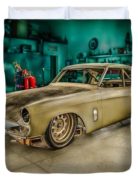 1953 Studebaker Hawk Duvet Cover