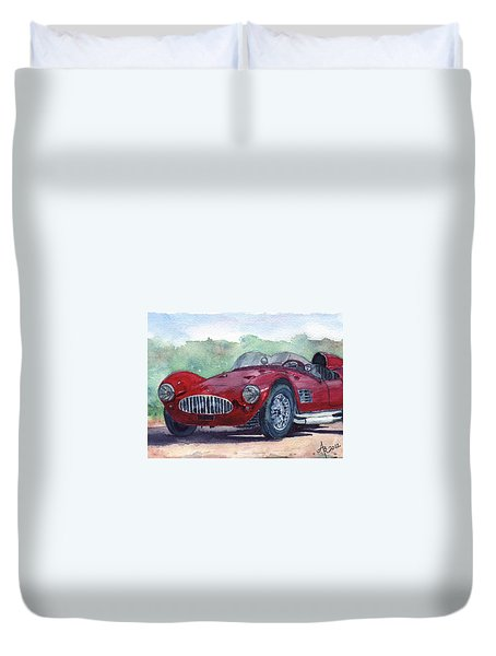 1954 Maserati A6 Gsc Tipo Mm Duvet Cover