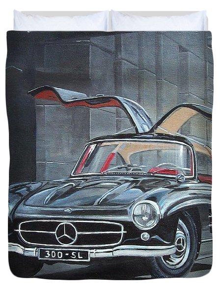 1954 Mercedes Benz 300 Sl Gullwing Duvet Cover