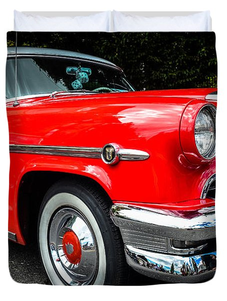1954 Mercury Monterey Duvet Cover by Ronda Broatch
