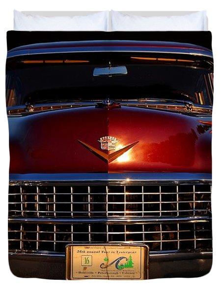 1955 Cadillac Series 62 Duvet Cover