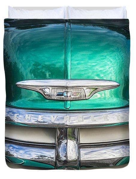 1955 Chevrolet First Series Duvet Cover