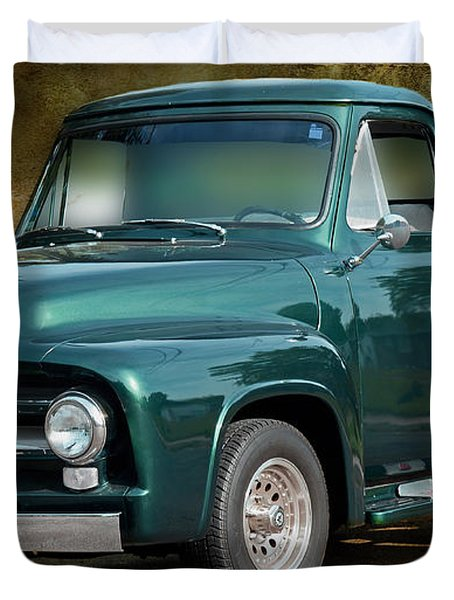 1955 Ford Truck Duvet Cover