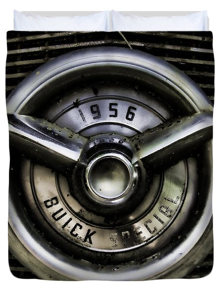 1956 Buick Special Two Duvet Cover