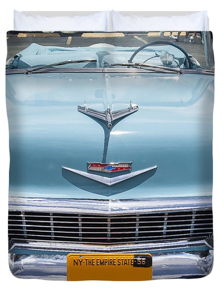 1956 Chevrolet Bel Air Duvet Cover