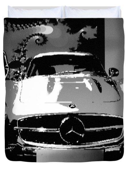 1956 Mercedes Benz 300 Sl Gullwing Duvet Cover