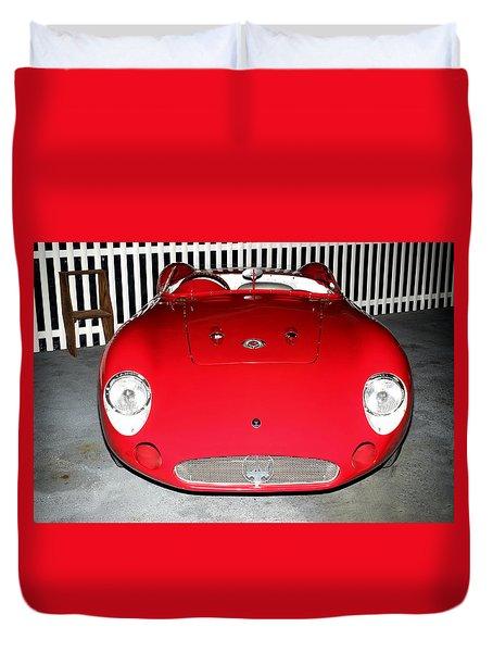 1956 Meserati 300s Duvet Cover