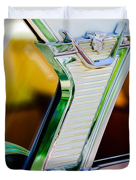 1957 Mercury Monterey Sedan -1030c Duvet Cover
