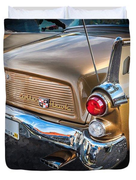 1957 Studebaker Golden Hawk   Duvet Cover