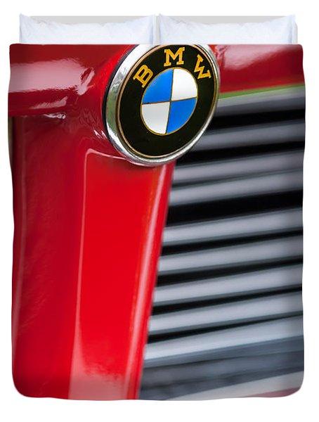 1958 Bmw 3200 Michelotti Vignale Roadster Grille Emblem -2414c Duvet Cover