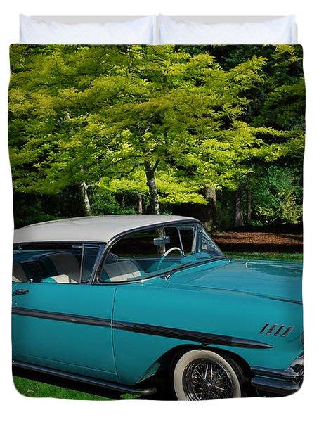 1958 Chev Impala Duvet Cover