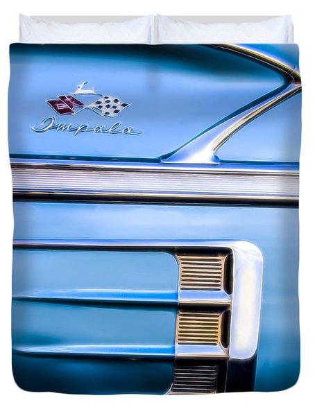 1958 Chevrolet Impala Duvet Cover