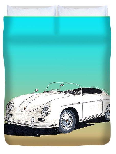 1959 Porsche Speedster Duvet Cover