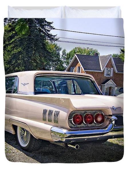 1960 Thunderbird 2 Duvet Cover