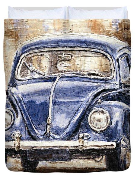 1960 Volkswagen Beetle Duvet Cover